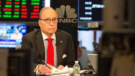 Larry Kudlow on Yhdysvaltain presidentin Donald Trumpin uusi talousneuvonantaja.