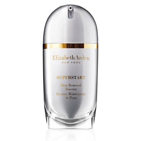 Elizabeth Arden Superstart Skin Renewal Booster on kosteusvoiteen ja seerumin alla käytettävä tuote, joka tehostaa muiden hoitotuotteiden vaikutuksia. 59 €.