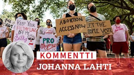 Texasin kovan linjan aborttilaki nosti aborttikeskustelun uuteen roihuun Yhdysvalloissa.