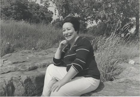 Laila Kinnunen kuvattuna 1984.