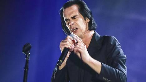 Laulaja Nick Cave menetti poikansa vuonna 2015.
