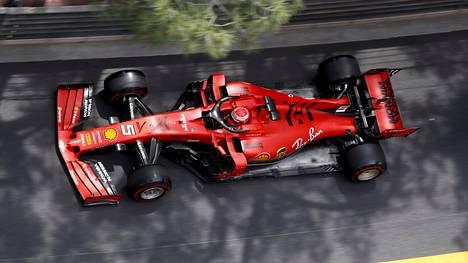 Ferrarin tähtikuski Sebastian Vettel ajoi toukokuun lopulla Monacon kapealla katuradalla toiseksi.