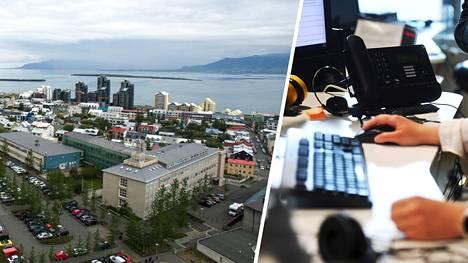 Islannissa kokeiltiin nelipäiväistä työviikkoa.
