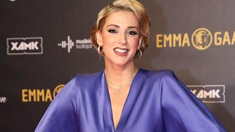 Loop-radiokanavan Jekku Berglund edusti viime lauantaina Emma-gaalassa.