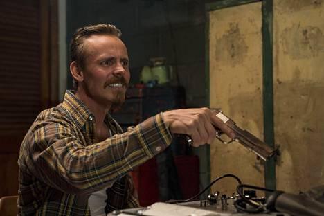 Jasper Pääkkönen BlacKkKlansman-elokuvassa.