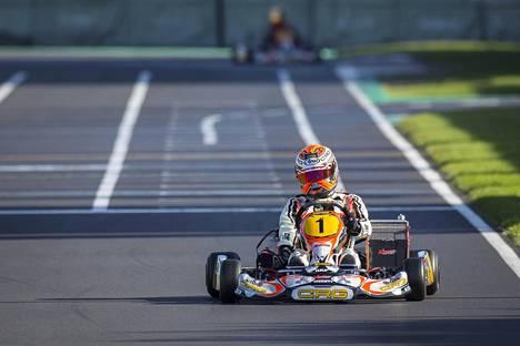Max Verstappen oli superähti jo kartingissa.