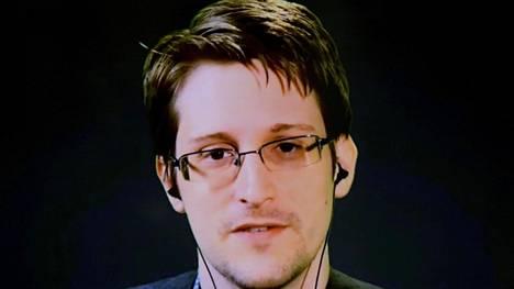 Edward Snowden on osallistunut useampaan kongressiin videoyhteyden avulla Venäjältä käsin.