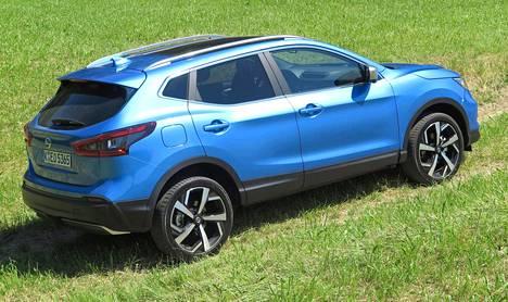 Suomalaisten suosimat Nissanit jäävät harvoin kiinni ylinopeudesta. Kuvassa Qashqai-malli.