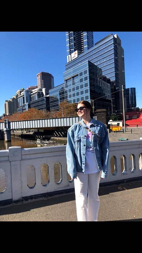 Anni Sierasella on edessä jo toinen lockdown Australiassa.