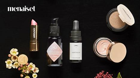 5 ylellistä meikkituotetta – kaikki luonnonkosmetiikkaa
