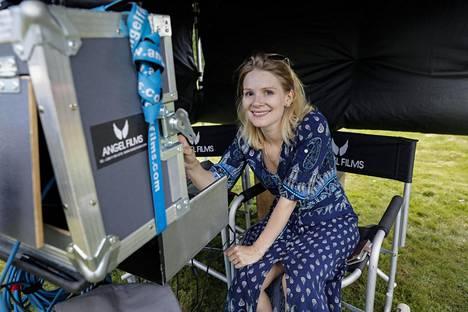Ohjaaja työnsä äärellä Swingers-elokuvan kuvauksissa viime heinäkuussa.