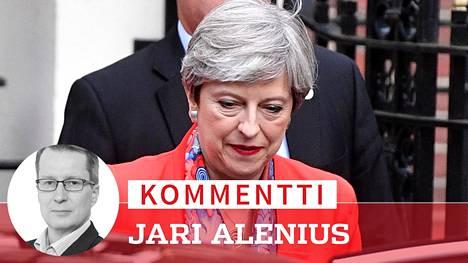 Theresa Mayn johtama konservatiivipuolue teki mahalaskun vaaleissa.