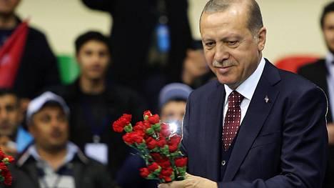 Erdogan toisti natsisyytöksensä.