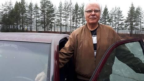 Raimo Laurilan auto saavuttaa ihan kohta maagisen miljoonan ajokilometrin rajan. Hän ei näe mitään syytä vaihtaa menopeliä.