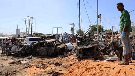Autopommin räjähdys vilkkaalla paikalla vei hengen 80 ihmiseltä.
