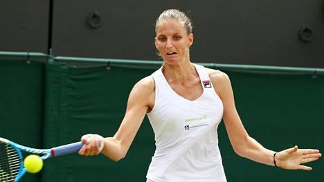 Karolina Pliskova hävisi, naisten kärkikymmenikkö ulkona Wimbledonista
