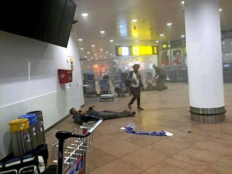 Ainakin 31 ihmistä kuoli ja 340 loukkaantui pommi-iskujen sarjassa Brysselin lentokentälle ja metroon.
