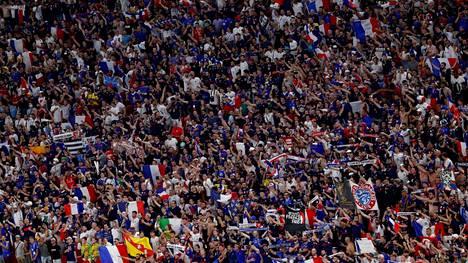Ranskalaisryhmä ei päässyt nauttimaan Budapestin hurjasta tunnelmasta.