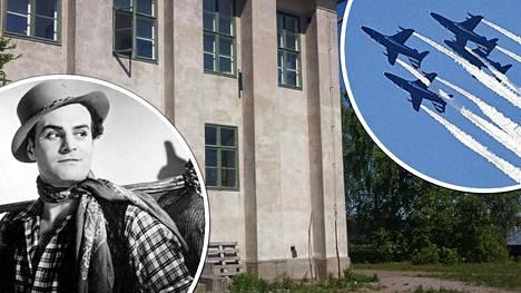 Tauno Palo työskenteli nuorena Kemiallisella koelaitoksella Harakan saarella. Perjantaina Harakka jää ilmailunäytöksessä nähtävän kaluston lentolinjan alle.