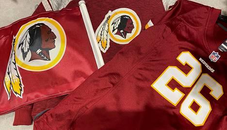 Tätä logoa ei enää nähdä NFL-seuran paidassa.