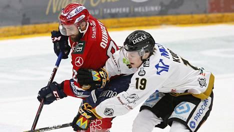 HIFK ja Kärpät ottavat mittaa toisistaan SM-liigan puolivälierissä.