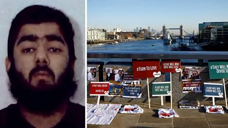 Poliisi ampui Usman Khanin London Bridgen veisti-iskun jälkeen perjantaina. Khan oli tuomittu vankilaan vuonna 2012 osallisuudestaan terrori-iskun suunnitteluun pari vuotta aiemmin.