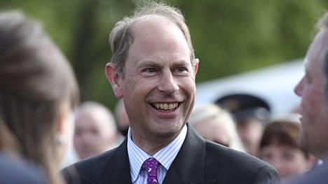 Prinssi Edward on nuorin kuningatar Elisabetin neljästä lapsesta.