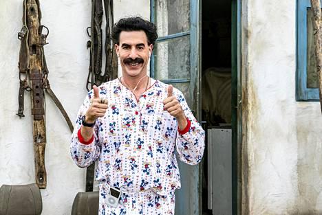 Boratin kuvausryhmä kuljetti kohuhaastattelun tallenteet housuissaan pois hotellihuoneesta.