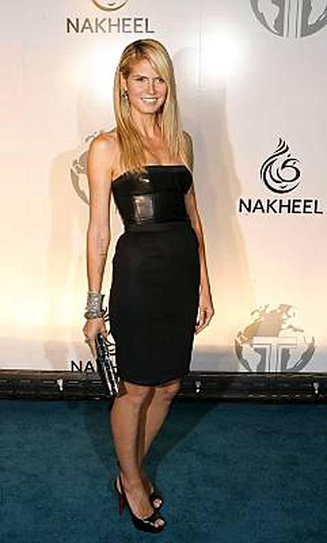Toisin kuin monet julkkiskaunottaret, Heidi Klum ei pelkää ikääntymistä.