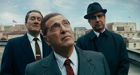 Al Pacino näyttelee The Irishman -elokuvassa ay-pomo Jimmy Hoffaa. Viimeksi Pacino on ollut Oscar-ehdokkaana 27 vuotta sitten.