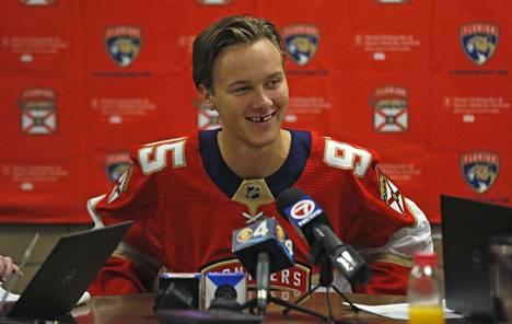 Henrik Borgström pelasi kaksi edellistä kautta Florida Panthersin organisaatiossa.