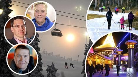 Moni suomalainen aikoo mennä joululomalla Lappiin.