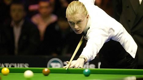 Paul Hunter voitti lyhyeksi jääneellä urallaan Masters-turnauksen kolme kertaa.