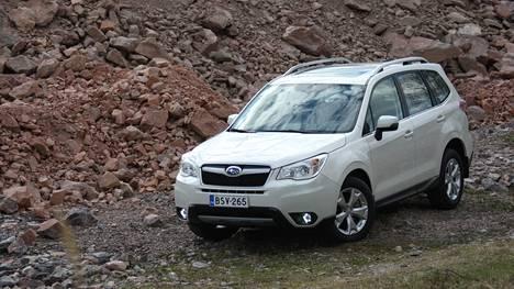 Subaru Foresterin ulkomuodon uudistukset ovat pysyneet varsin maltillisina.