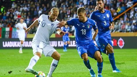 Italian lehdistö kunnioittaa Teemu Pukkia. Suomen muu joukkue ei sen sijaan nauti saapasmaan mediassa kovin suurta arvostusta.