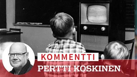 Kunhan kuvaaja oli lähtenyt, oli opettajalla kiire asemoida lapset luokassa turvaetäisyyden päähän: –Tulkaapas, Markku ja muutkin, kauemmas laitteesta ennen kuin Koulutelevision ohjelma alkaa, ettei teiltä mene silmät!