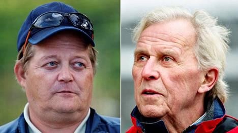 Seppo Rädyn ja Bror-Erik Walleniuksen haastatteluhetki Stuttgartissa 1993 on pala suomalaista tv-historiaa.