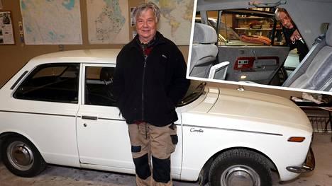 Matti, 78, omistaa yli 40 Toyotaa – suhde vanhimpaan Corollaan on kestänyt jo 52 vuotta, mutta yksi on muita arvokkaampi