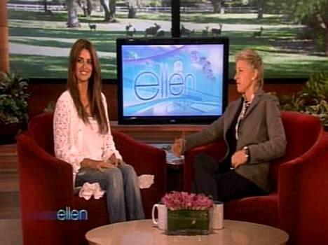 Penelope Cruz kertoi huutelijoista Ellen DeGeneresille.