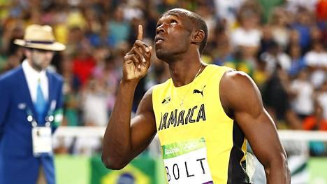 Usain Bolt tavoittelee ME-aikaa 200 metrillä.