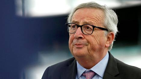 Euroopan unionin komission puheenjohtaja Jean-Claude Juncker.