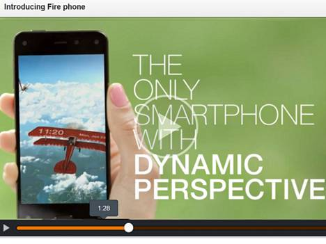 Firephone ei ollut kovin dynaaminen markkinoilla.