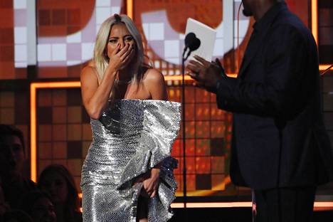 Lady Gaga keräsi useita Grammy-palkintoja.