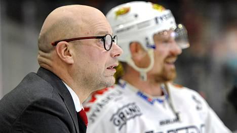 JYPin Risto Dufva ja Janne Kolehmainen kohtaavat Lukon pudotuspeleissä.