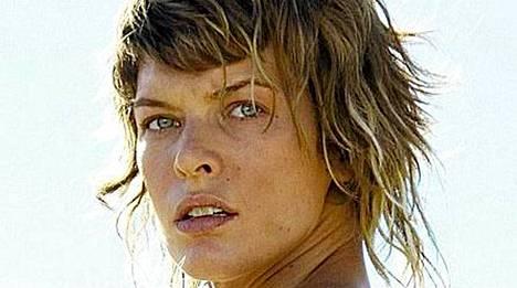 Milla Jovovich elokuvassa Resident Evil: Tuho.
