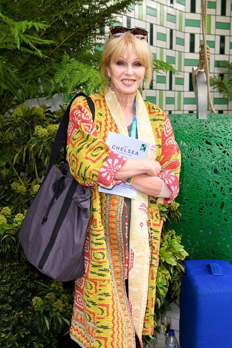 Joanna Lumley on tuttu Todella upeeta -sarjasta.