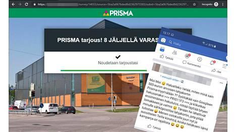 Facebookissa liikkuva huijaus vie verkkosivulle, jossa tietojen antaminen johtaa 90 euron kuukausimaksuun.