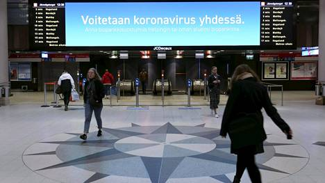 Koronaviruksen tartuntamäärät ovat Suomessa laskeneet huhtikuun alun huippulukemista.