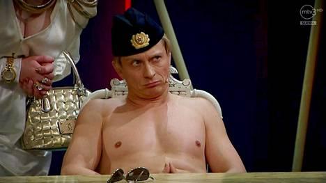 Kari Ketosen esittämä Putin-parodia noteerattiin maailmalla.