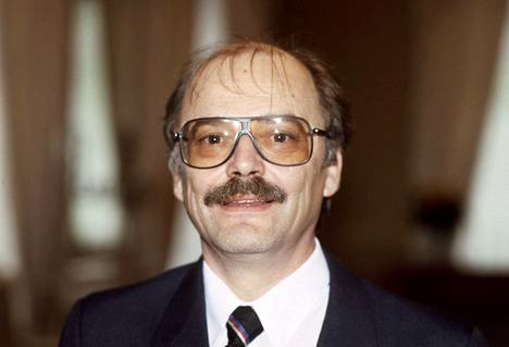 Näyttelijä Paavo Pentikäinen vuonna 1986.